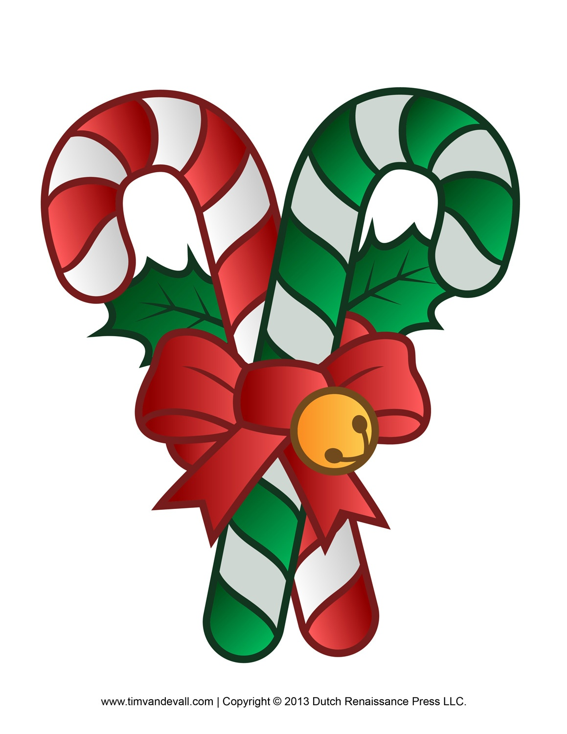 Christmas Candy Cane Clipart - Clipartix - Free Printable Candy Cane