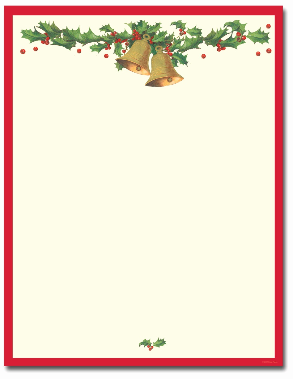 Christmas Letterhead Templates Free Printable Christmas Stationery - Free Printable Christmas Stationary Paper