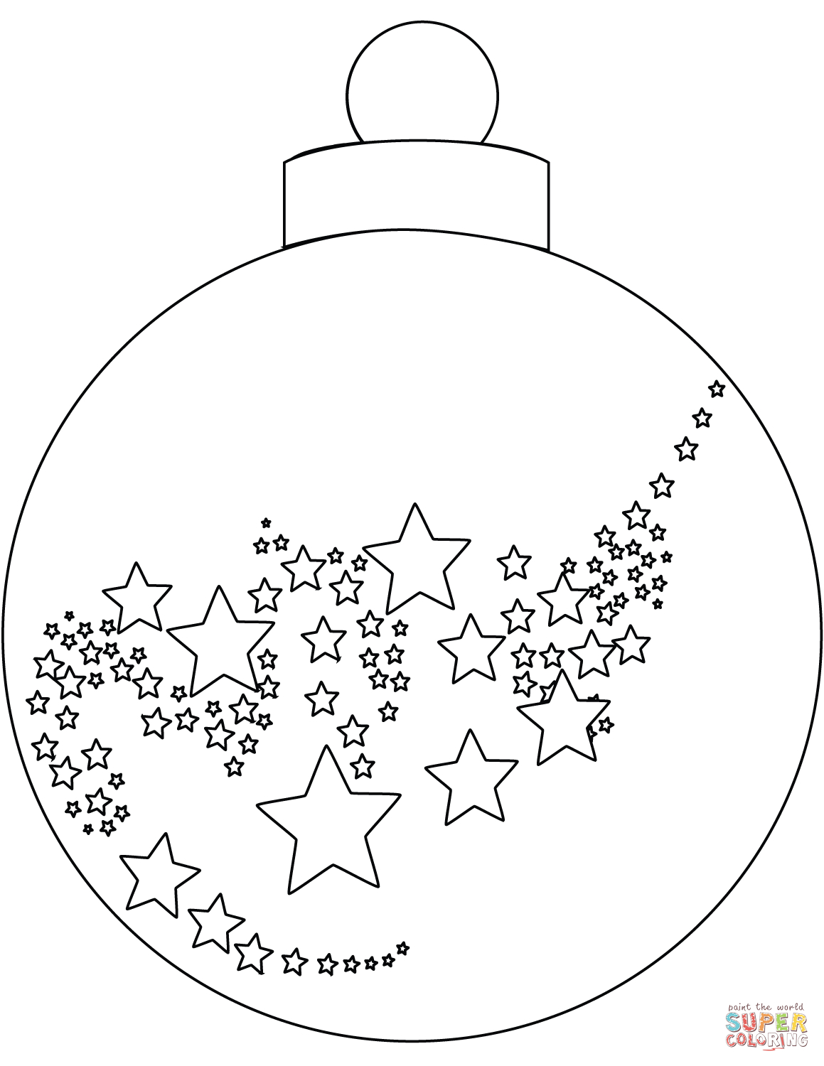 Christmas Ornament Coloring Page   Free Printable Coloring Pages - Free Printable Christmas Ornaments