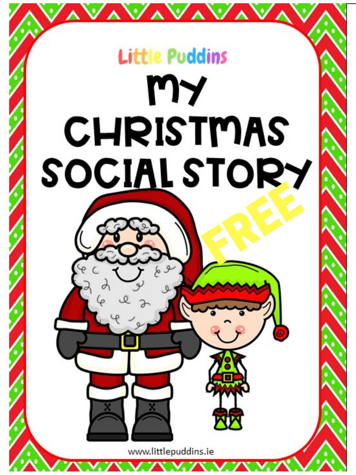 Christmas Social Story – Little Puddins Free Printables - Free Printable Social Stories