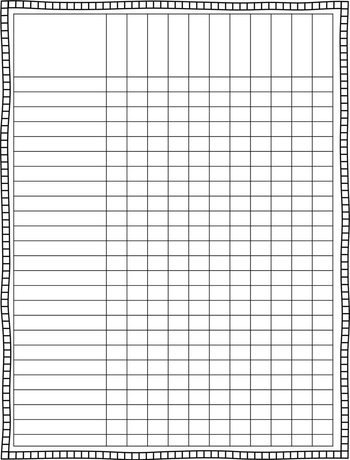 Classroom Schedule Template For Teachers | Finally, A Cute Lesson - Free Printable Gradebook Sheets For Teachers