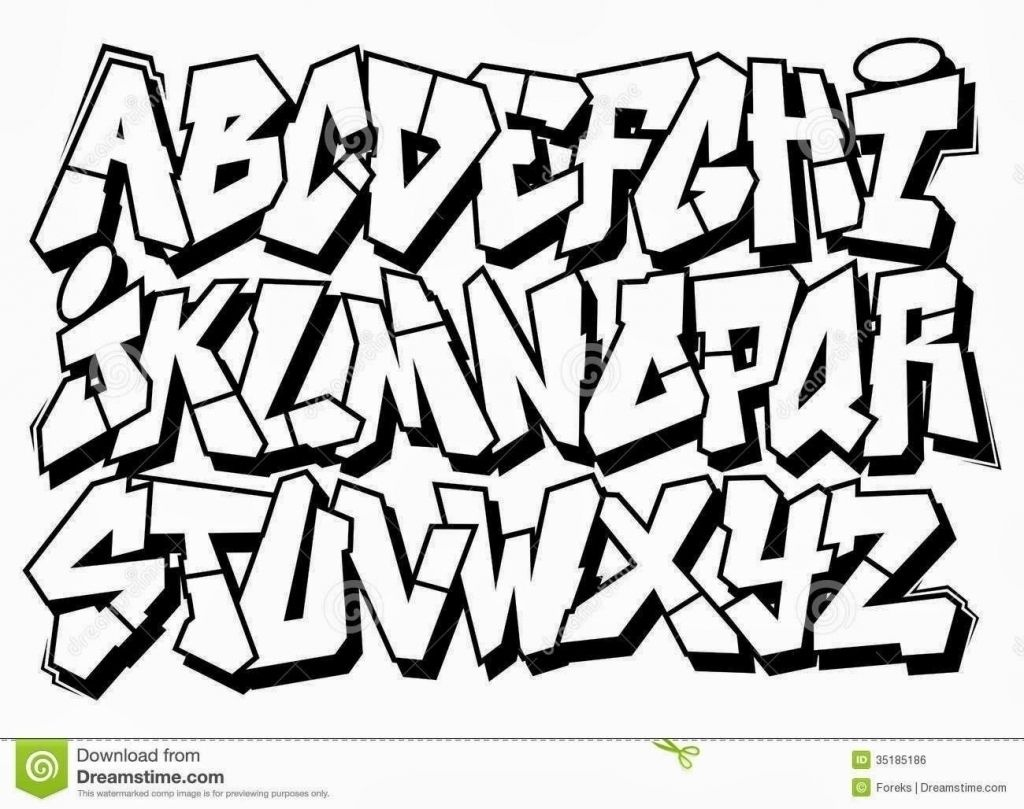 Collection Of Graffiti Clipart | Free Download Best Graffiti Clipart - Free Printable Graffiti Letters Az
