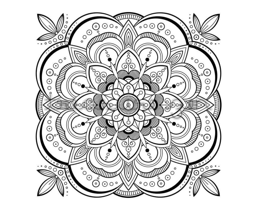Coloring Book World: 48 Splendi Mandala Coloring Pages Pdf. Animal - Free Printable Mandalas Pdf