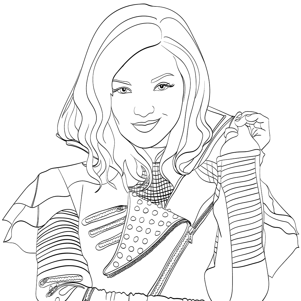 Coloring Book World ~ Descendants Coloring Book Walmart Near Me - Free Printable Descendants Coloring Pages