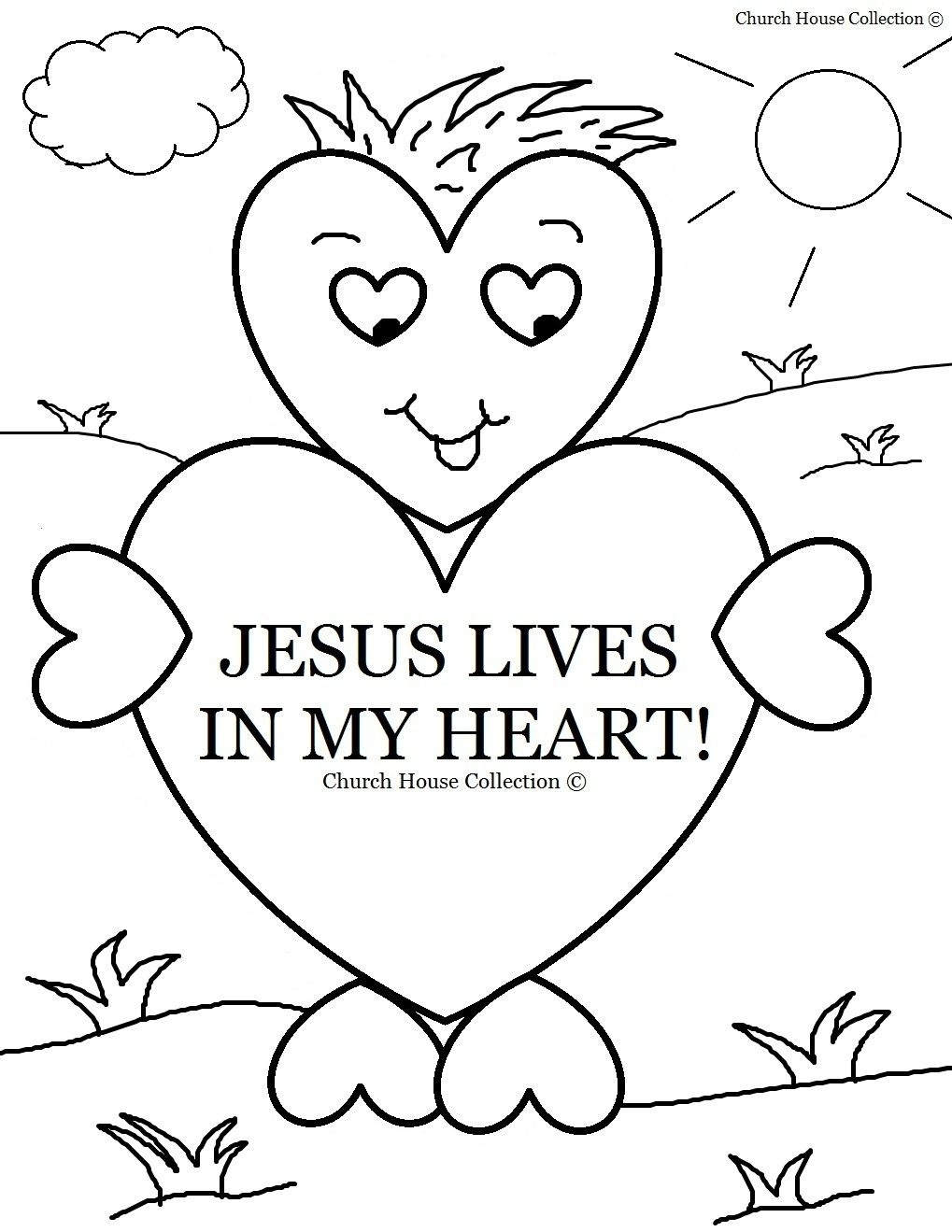 Coloring Book World ~ Free Sunday School Printables For Children - Free Printable Sunday School Coloring Sheets