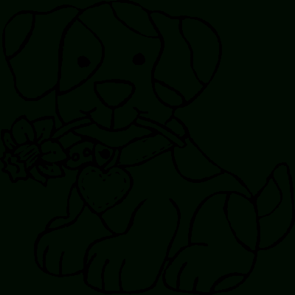 Coloring Book World ~ Tremendous Coloring Pages For Kids To Print - Free Printable Dog Coloring Pages