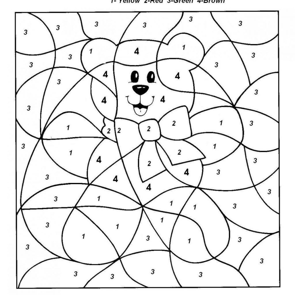 Coloring Book World ~ Tremendous Colornumber Coloring Pages Free - Free Printable Christmas Color By Number Coloring Pages