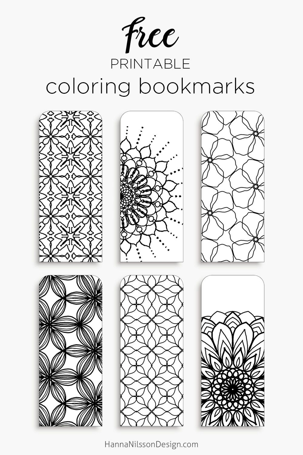 Coloring Bookmarks – Print, Color And Read | Bookmarks | Bookmark - Free Printable Bookmarks