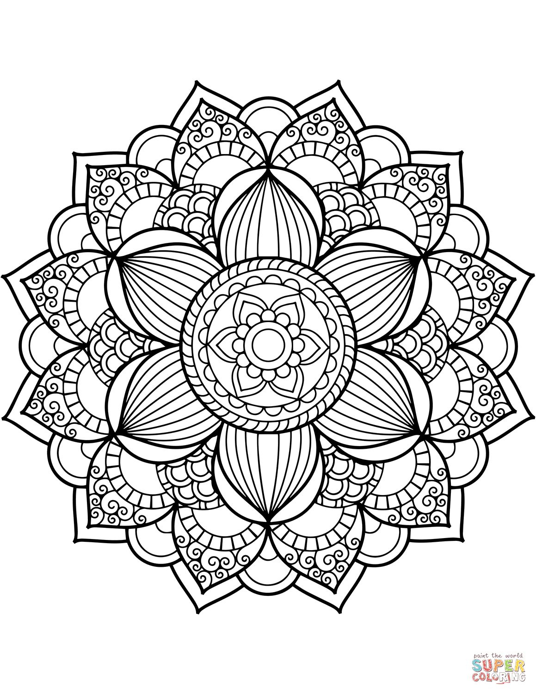 Coloring ~ Coloring Page Peep Pagesanced Mandala Pdf Fascinating - Free Printable Mandalas Pdf