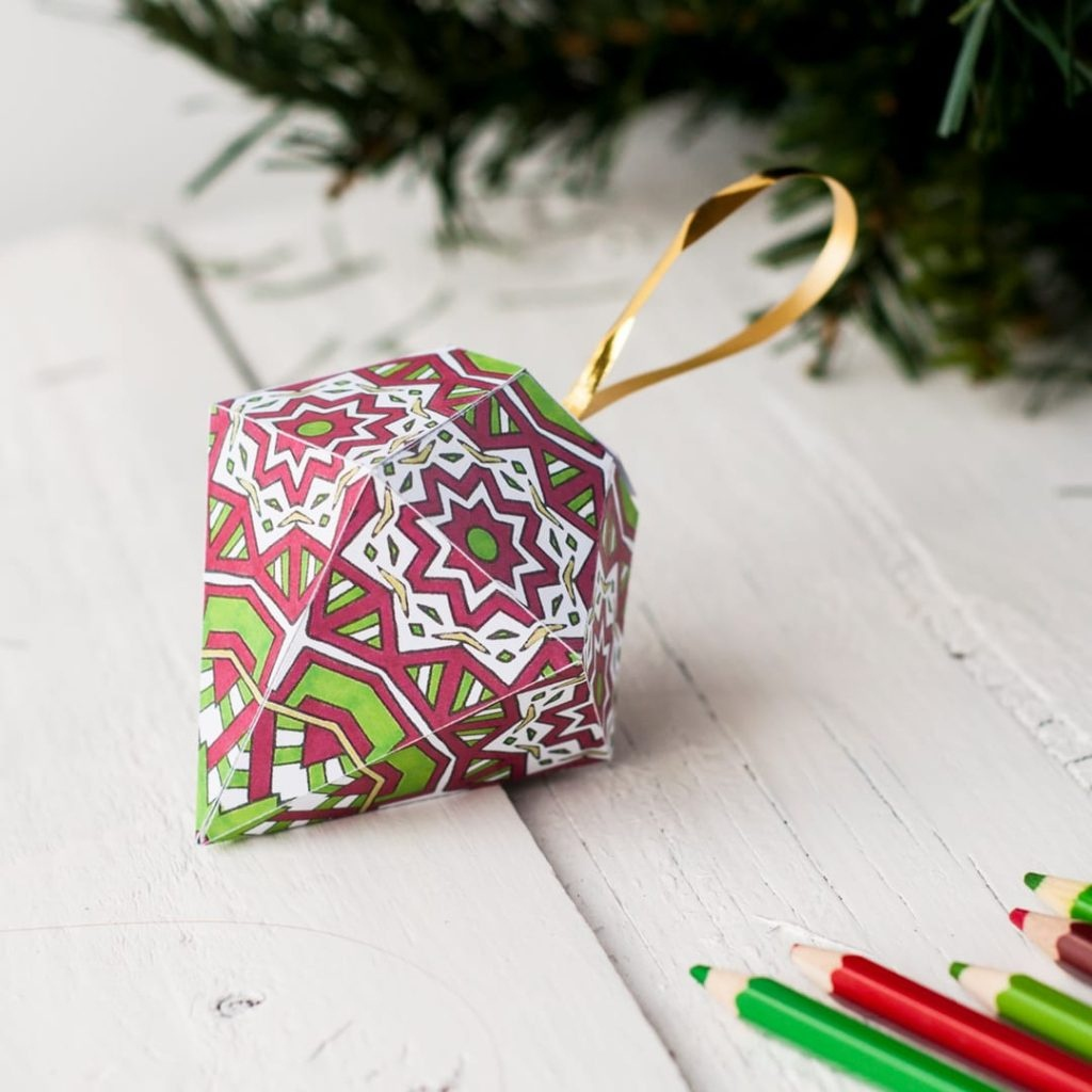 Coloring ~ Coloring Printable Christmas Ornaments Free Ornament - Free Printable Christmas Ornament Crafts