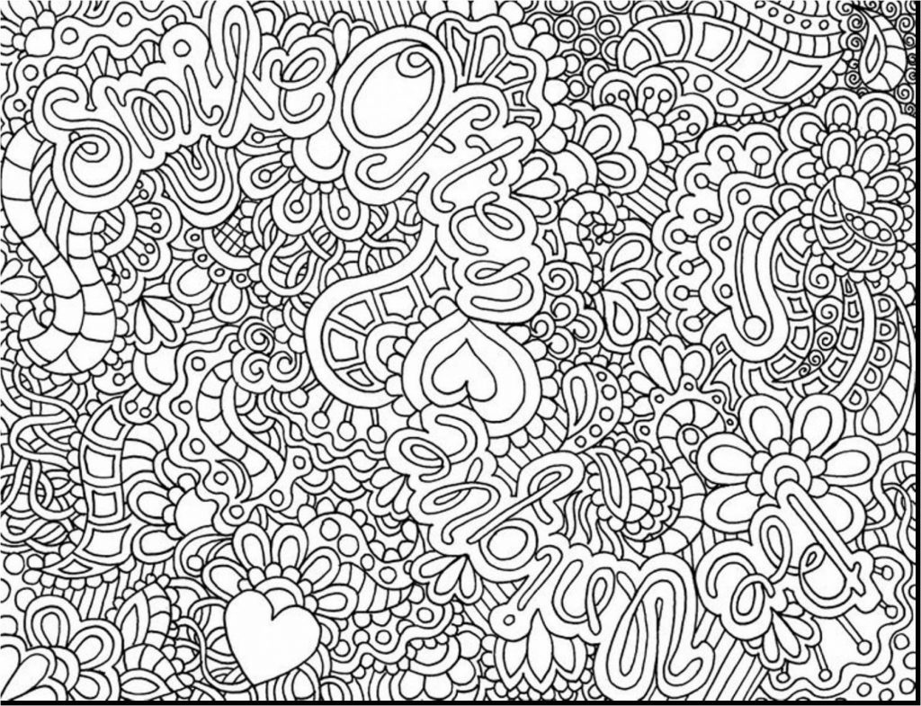 Coloring ~ Hard Coloring Pages Page Free Printable Therapeutic For - Free Printable Hard Coloring Pages For Adults