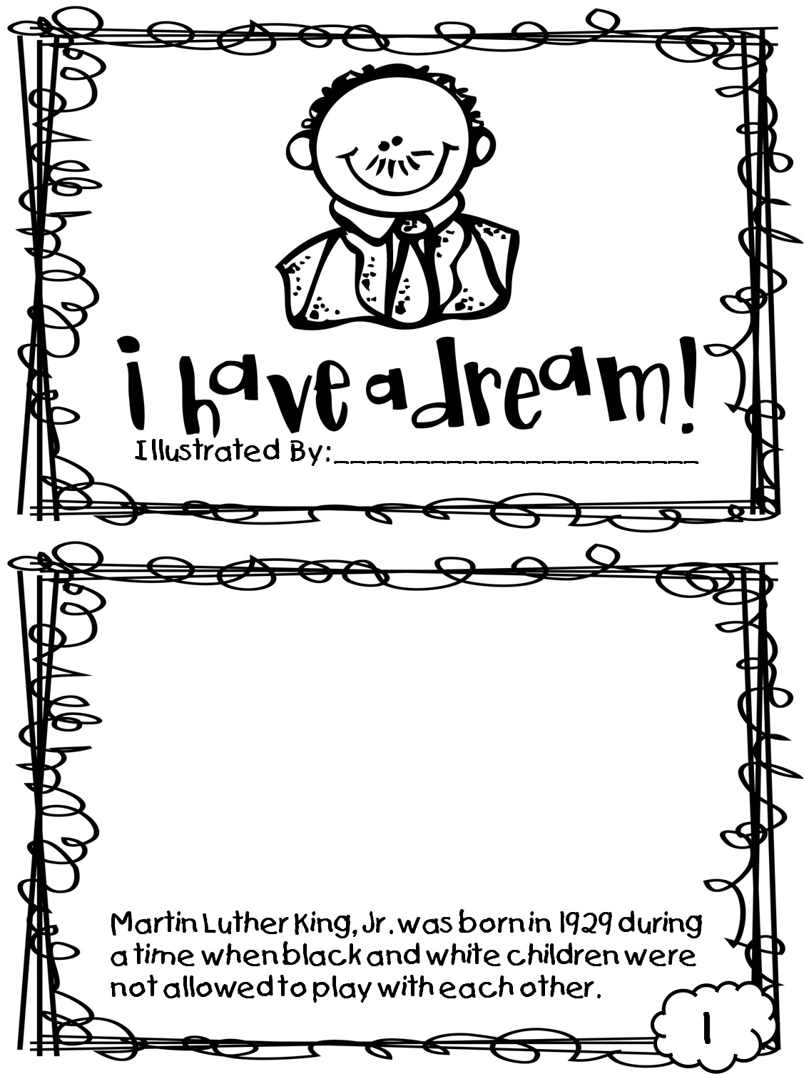 Coloring ~ Martin Luther King Reading Comprehension Exercises 16684 - Free Printable Martin Luther King Jr Worksheets
