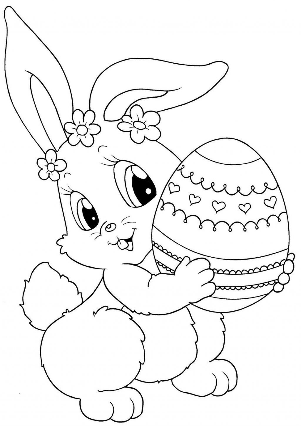 Coloring Page ~ Free Printable Easter Coloringes Extraordinary - Coloring Pages Free Printable Easter