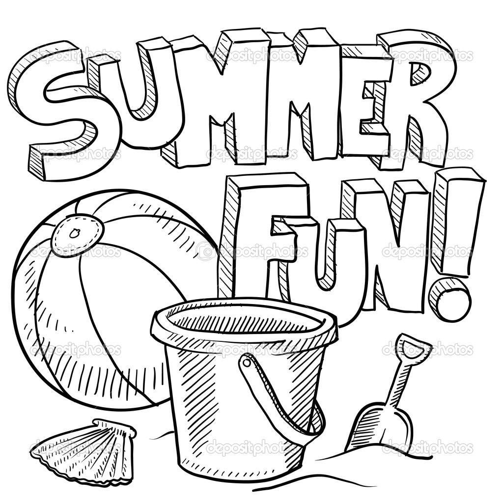 Coloring Page ~ Quality Free Printable Summer Coloring Pages - Summer Coloring Sheets Free Printable