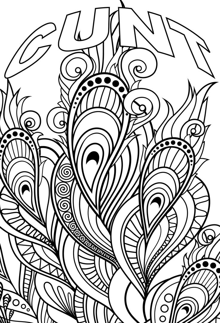 Coloring Page ~ Unique Free Printable Coloring Pages For Adults Only - Free Printable Coloring Pages For Adults Only Swear Words