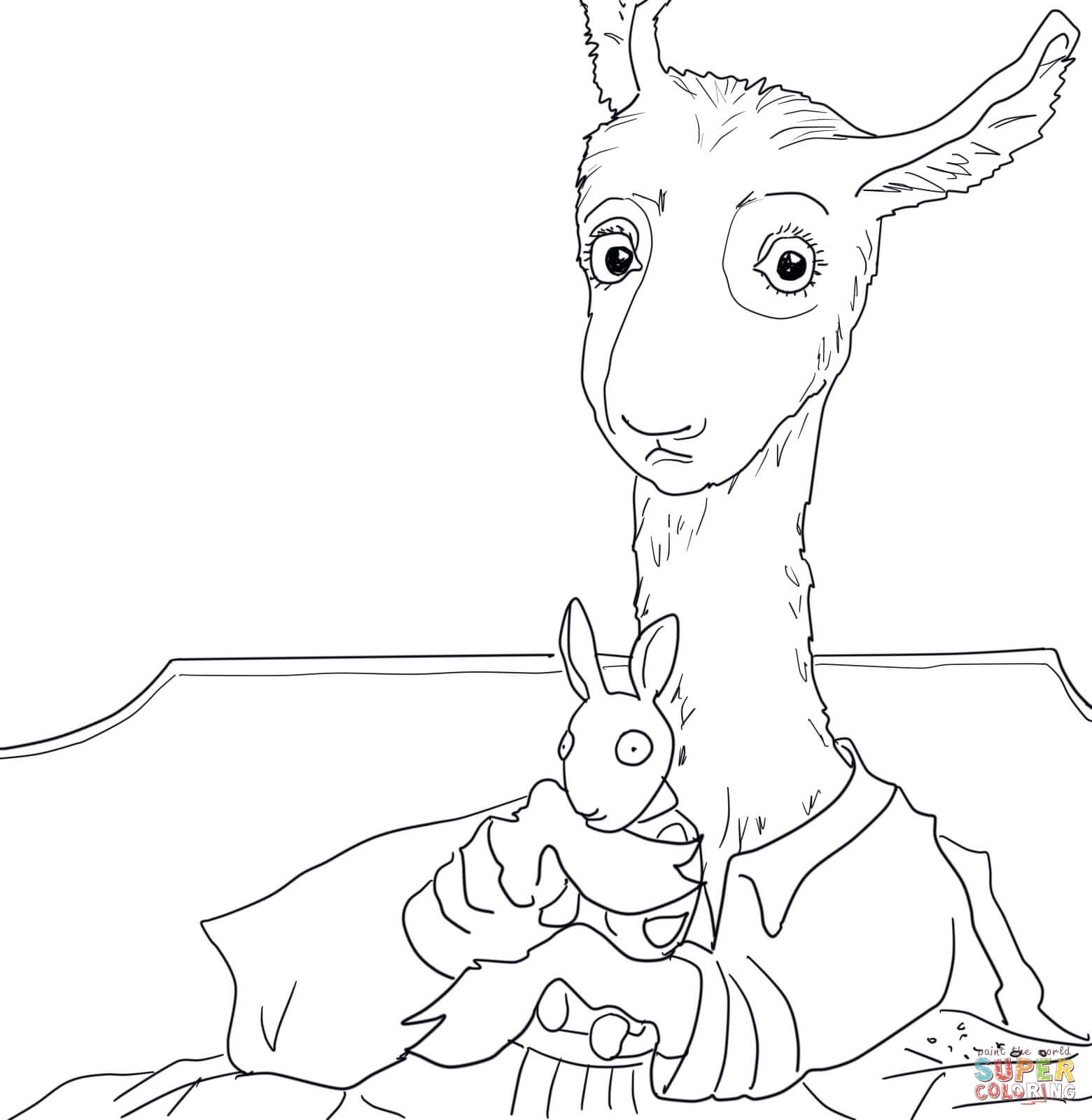 Coloring Pages Kids In Pajamas - Coloring Home - Free Printable Pajama Coloring Pages