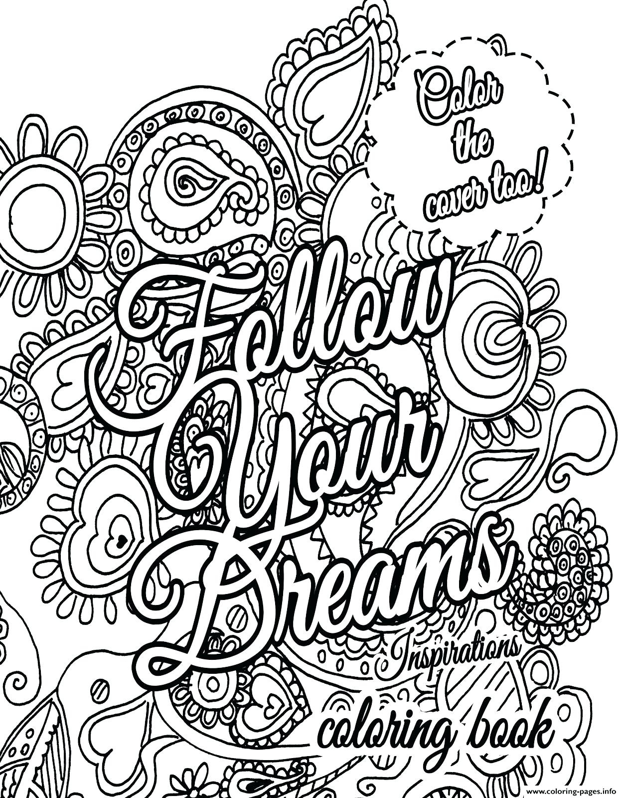 Coloring Pages Quotes - Line Coloring Pages Awesome Free Printable - Free Printable Quote Coloring Pages For Adults