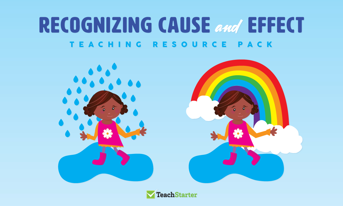Comprehension Strategy Teaching Resource Pack - Recognizing Cause - Free Printable Cause And Effect Picture Cards
