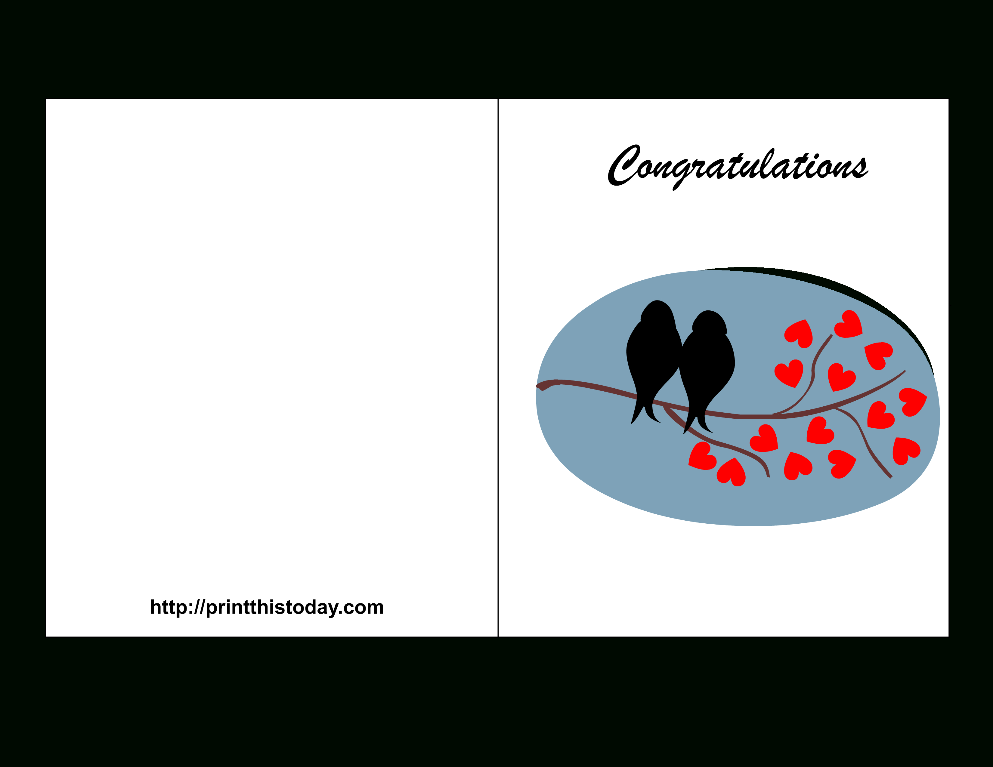 Congratulations Card To Print - Demir.iso-Consulting.co - Free Printable Wedding Congratulations Greeting Cards