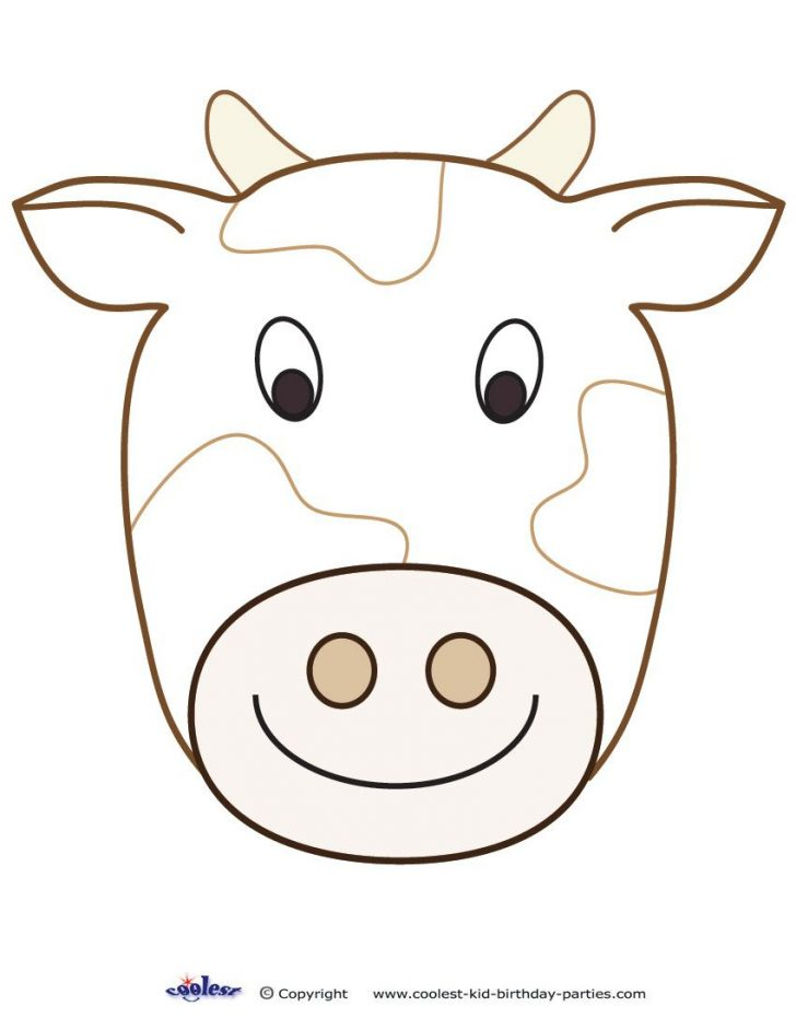 Free Printable Hippo Mask