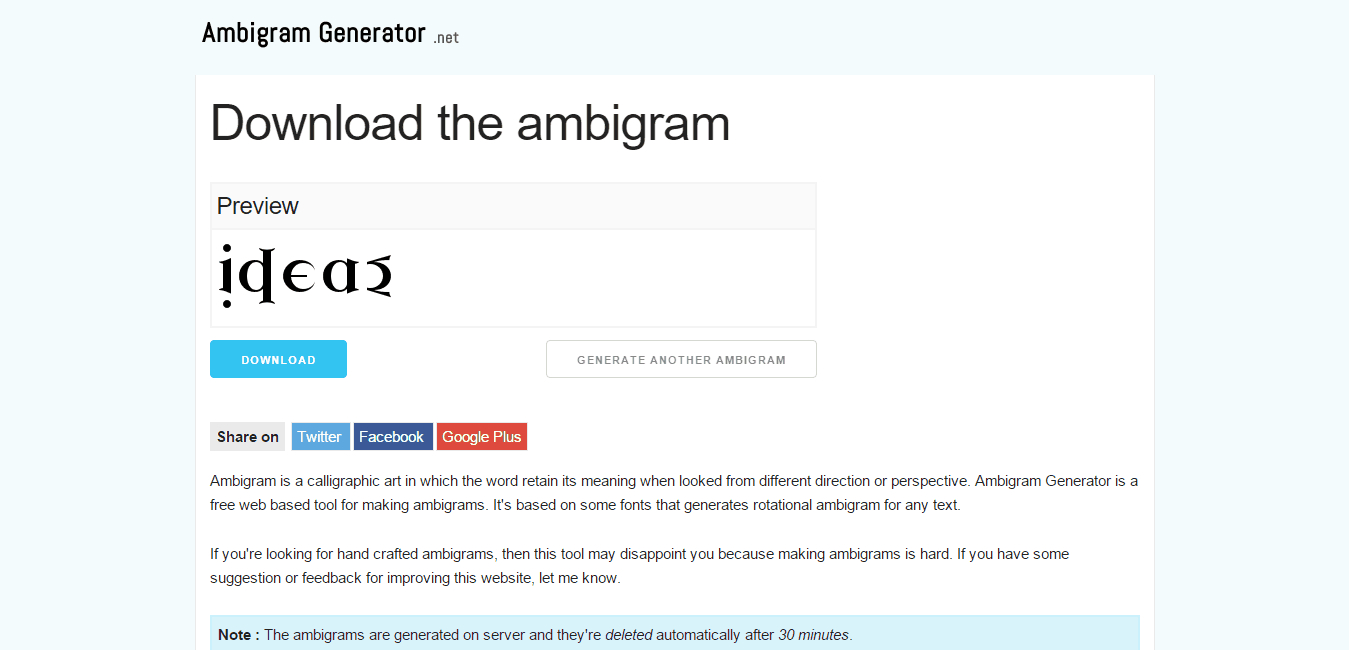 Create Ambigram Tattoos Online Free (89+ Images In Collection) Page 2 - Ambigram Generator Free Printable