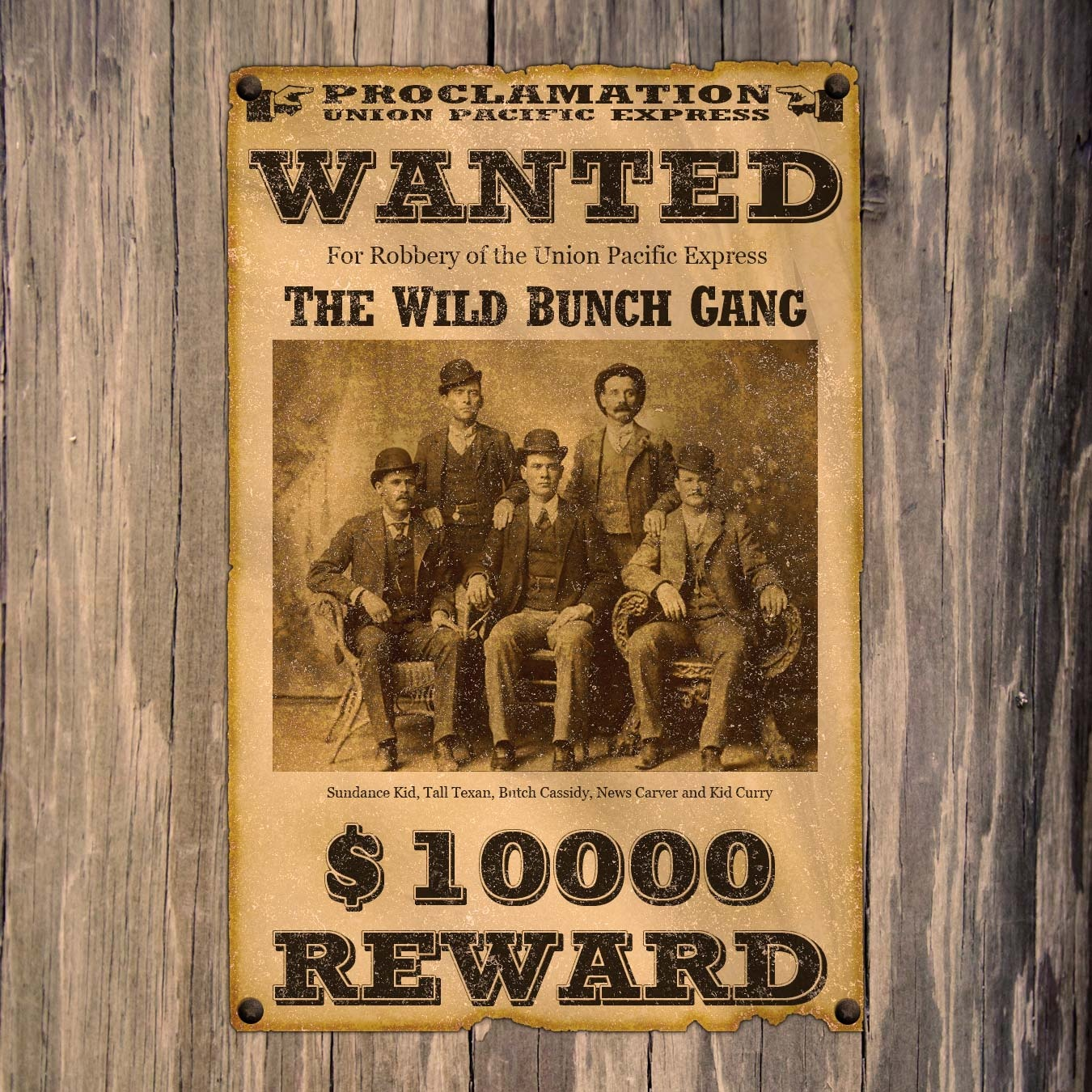 Create An Old West Wanted Poster In Adobe Photoshop - Free Printable Wanted Poster Old West