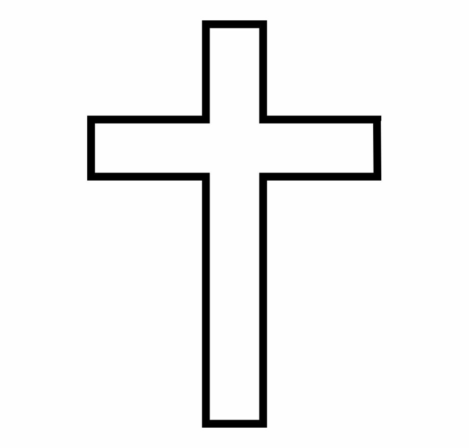 Cross Template Photo - Printable Cross Template Free Png Images - Free Printable Cross