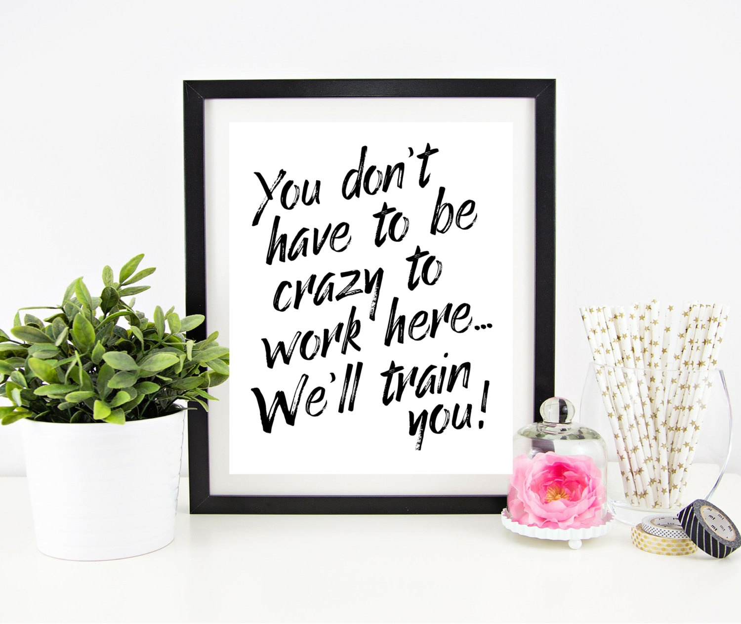 Cubicle Decor Printable Office Wall Art Funny Office Signs | Etsy - Free Printable Funny Office Signs