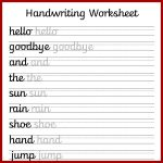 Cursive Handwriting Worksheets – Free Printable! ⋆ Mama Geek   Free Printable Handwriting Worksheets