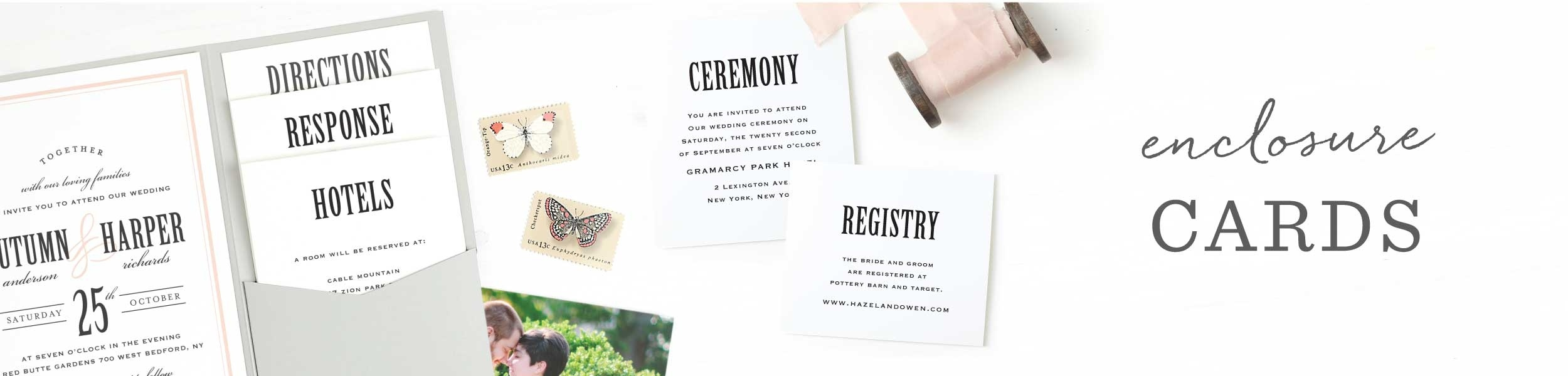 Customizable Wedding Registry Cards -Basic Invite - Free Printable Registry Cards