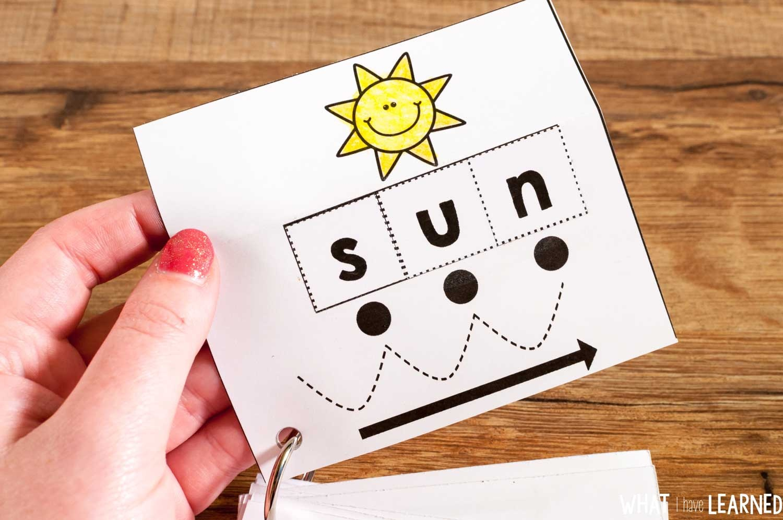 Cvc Cut & Paste Worksheets & Phonics Cards - Free Printable Blending Cards