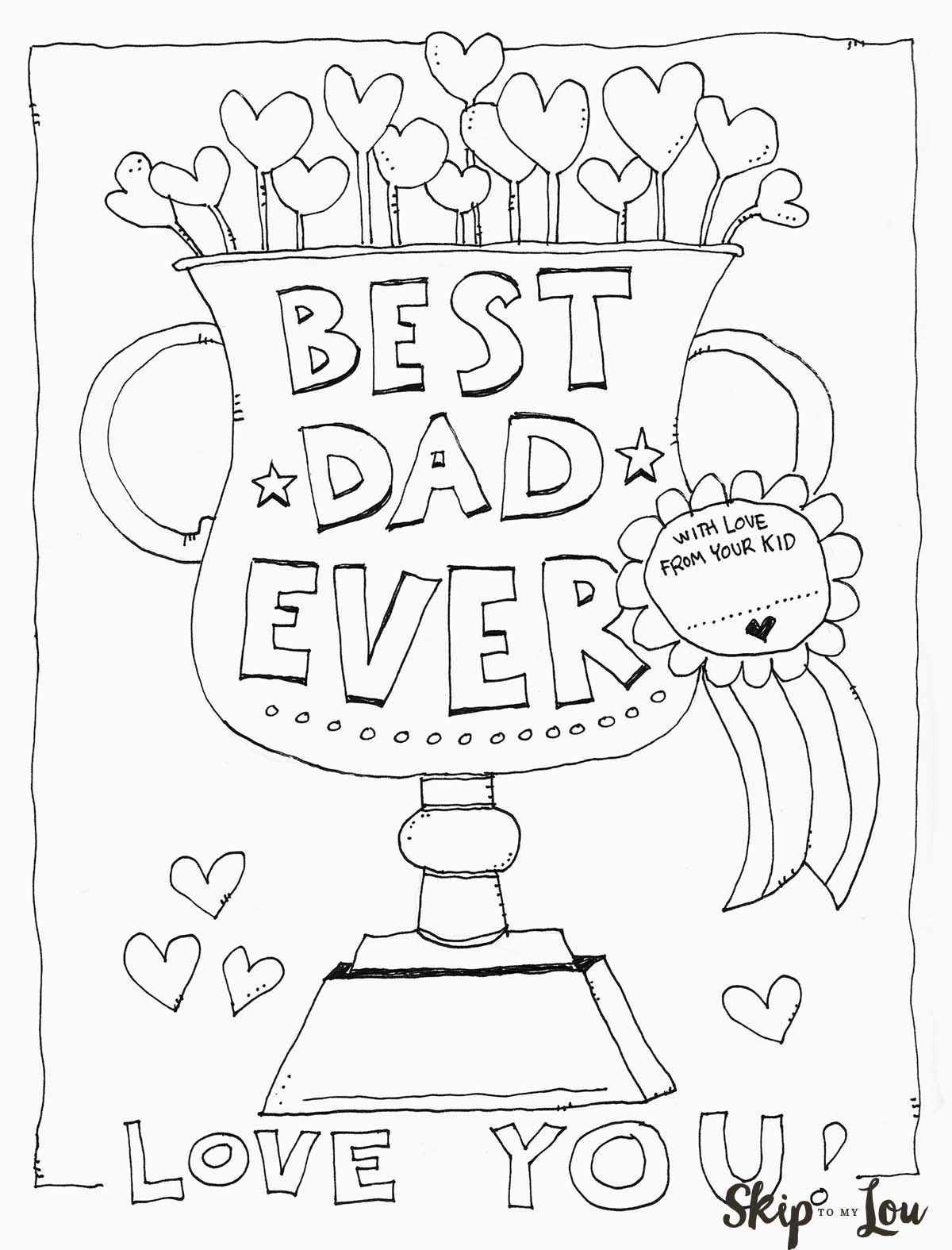 Dad Coloring Page | Father's Day | Kids Fathers Day Crafts, Fathers - Free Printable Fathers Day Coloring Pages For Grandpa