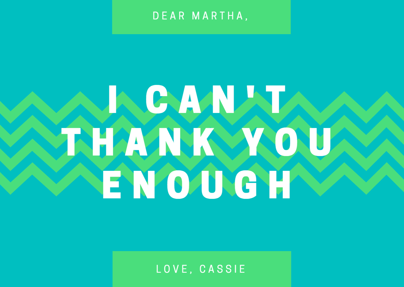 Design A Custom Thank You Card - Canva - Free Personalized Thank You Cards Printable