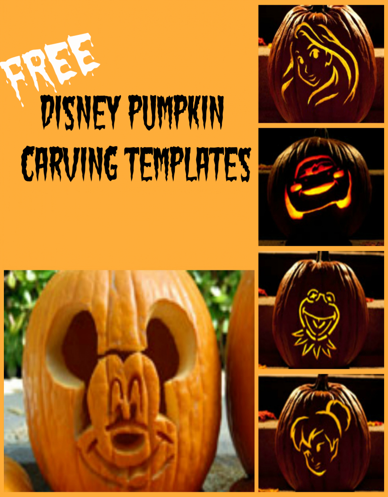 Disney Pumpkin Carving Patterns - Frugal Fanatic - Free Printable Pumpkin Carving Stencils For Kids