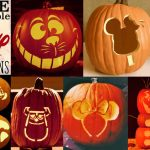 Disney Pumpkin Stencils: Over 130 Printable Pumpkin Patterns   Free Printable Pumpkin Stencils