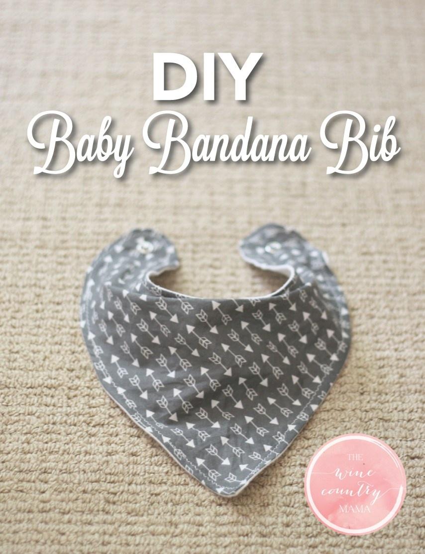 Diy Baby Bandana Bib - Free Printable Baby Bandana Bib Pattern