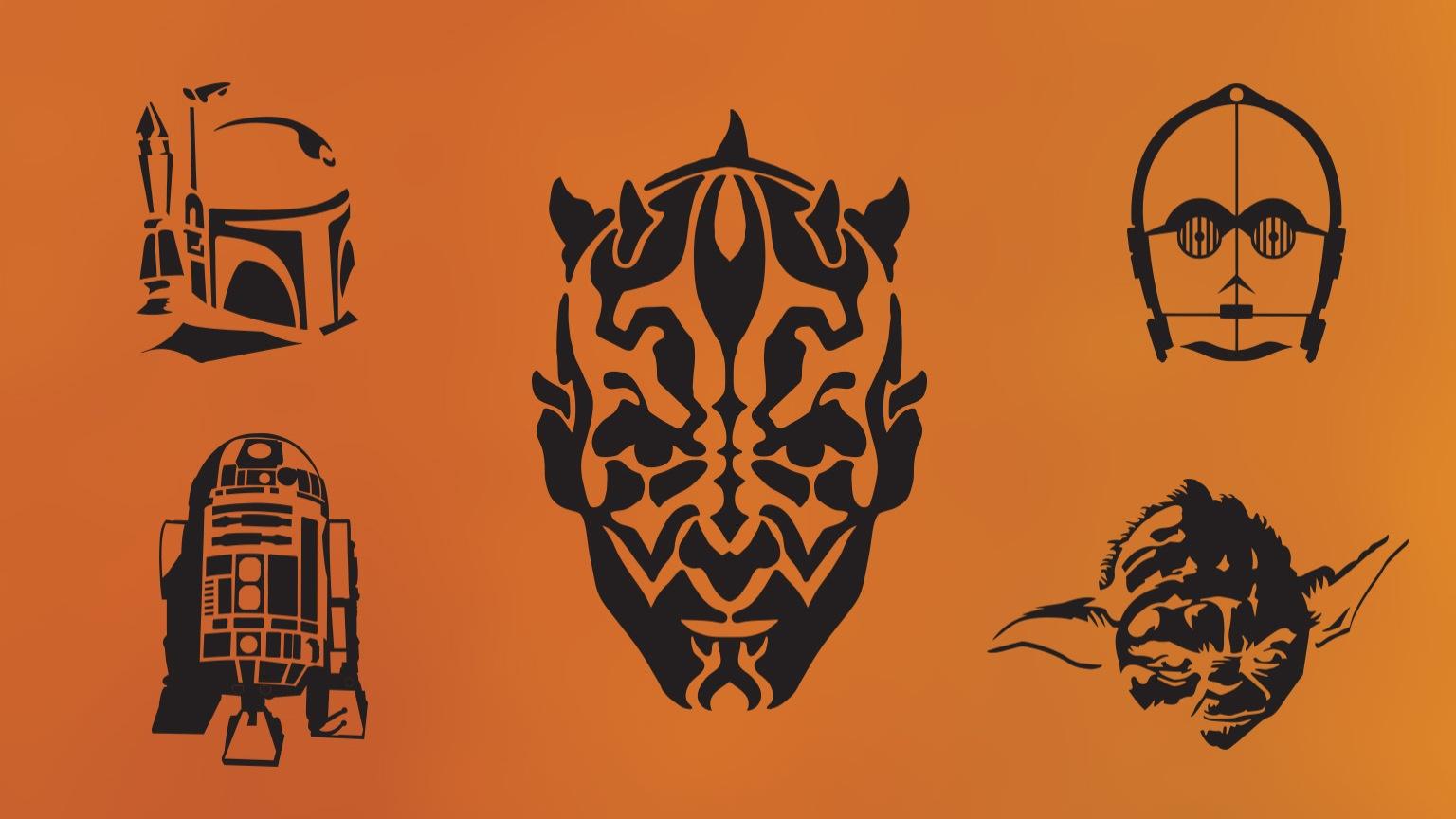 Diy Star Wars Pumpkin Stencils | Starwars - Star Wars Pumpkin Stencils Free Printable