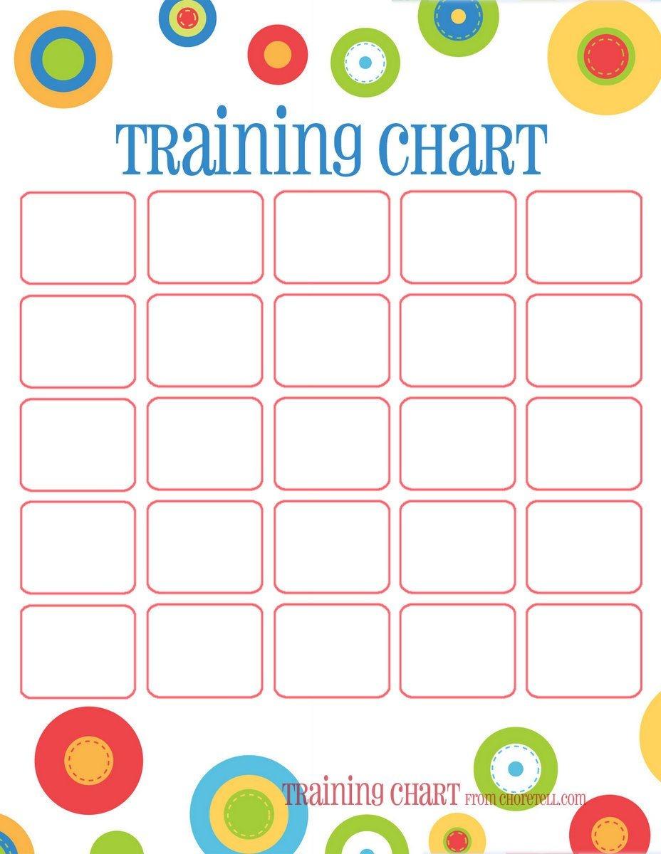 Dots Reward Charts: Potty Training & More | Free Printable Downloads - Charts Free Printable