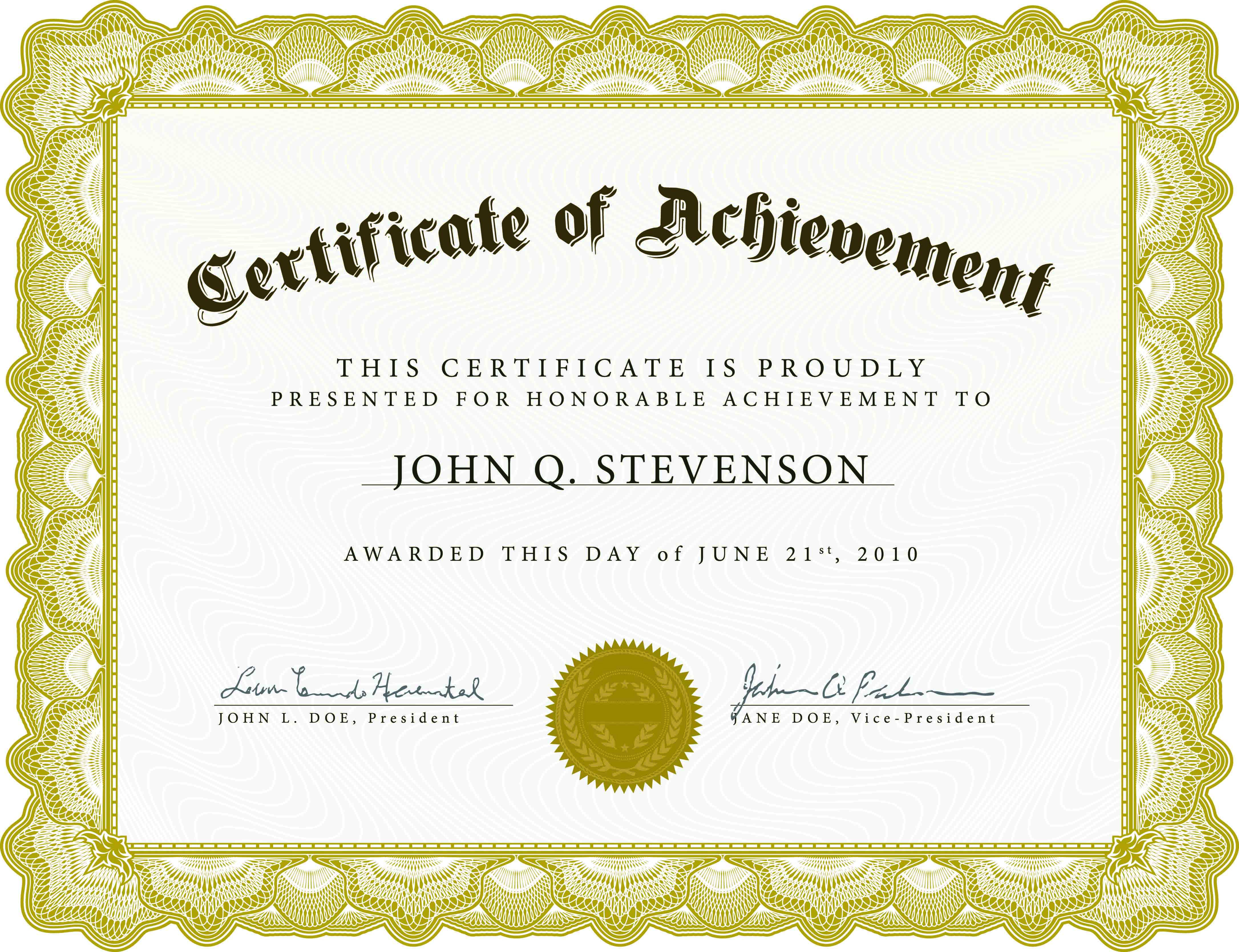 Download Blank Certificate Template X3Hr9Dto   St. Gabriel's Youth - Free Printable Blank Certificates Of Achievement