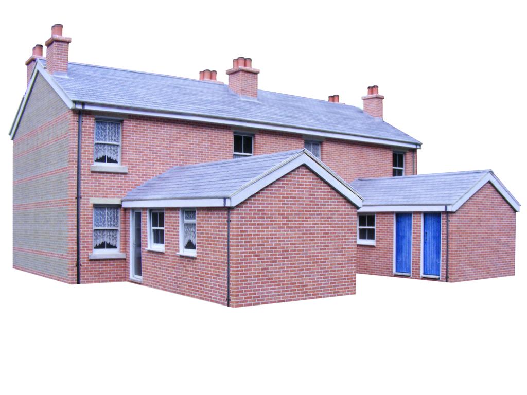 Download Free Pdf Card Model Building Kits. Scenerybuilder. - Free Printable Model Railway Buildings