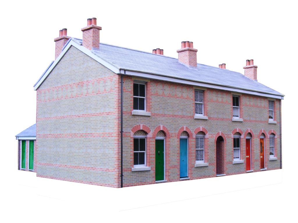 Download Free Pdf Card Model Building Kits. Scenerybuilder - Free Printable Model Railway Buildings
