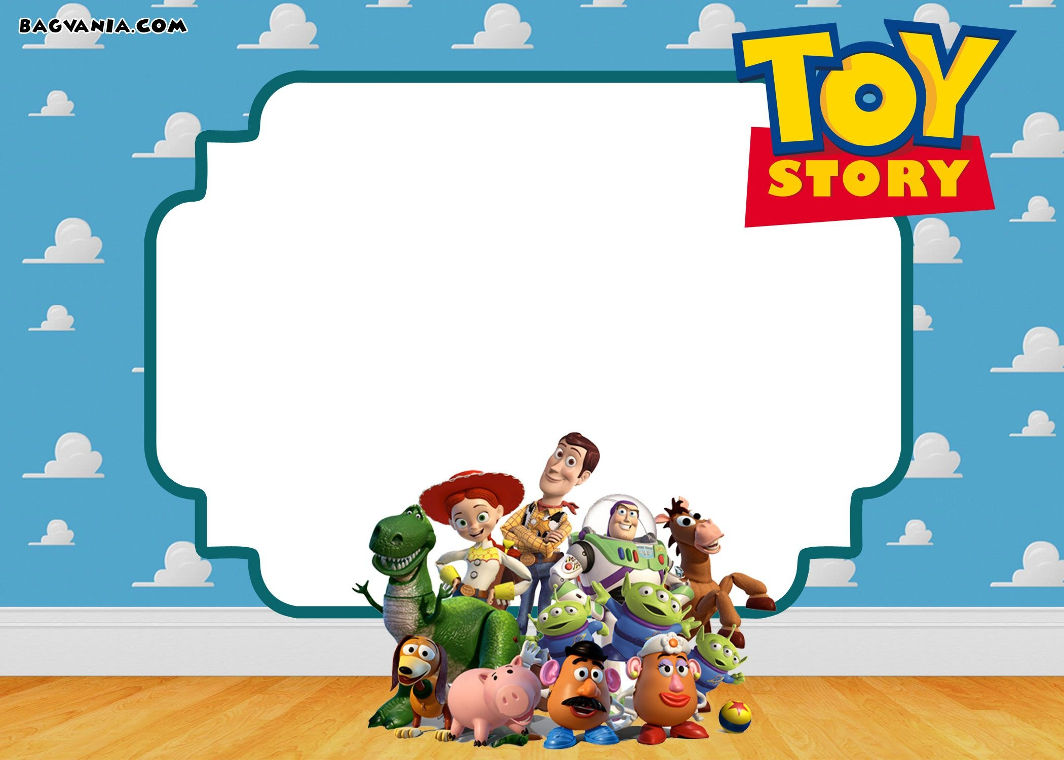 Download Now Free Printable Toy Story Birthday Invitations - Toy Story Birthday Card Printable Free