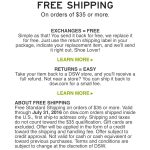 Dsw Coupons Never Expire / Staples Coupons For Printing   Free Printable Coupons For Dsw Shoes