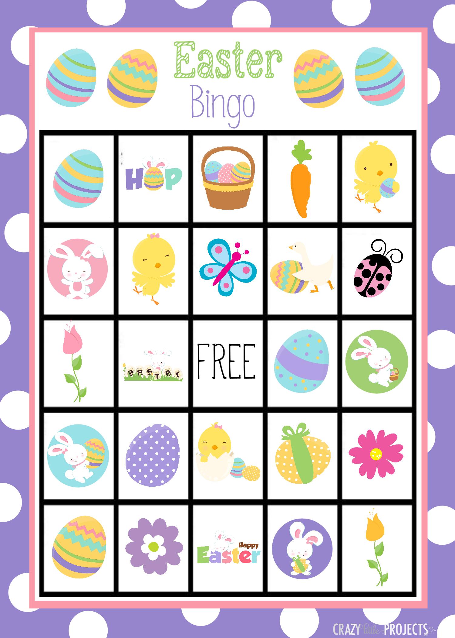 Easter Bingo Free Printable – Hd Easter Images - Free Printable Religious Easter Bingo Cards