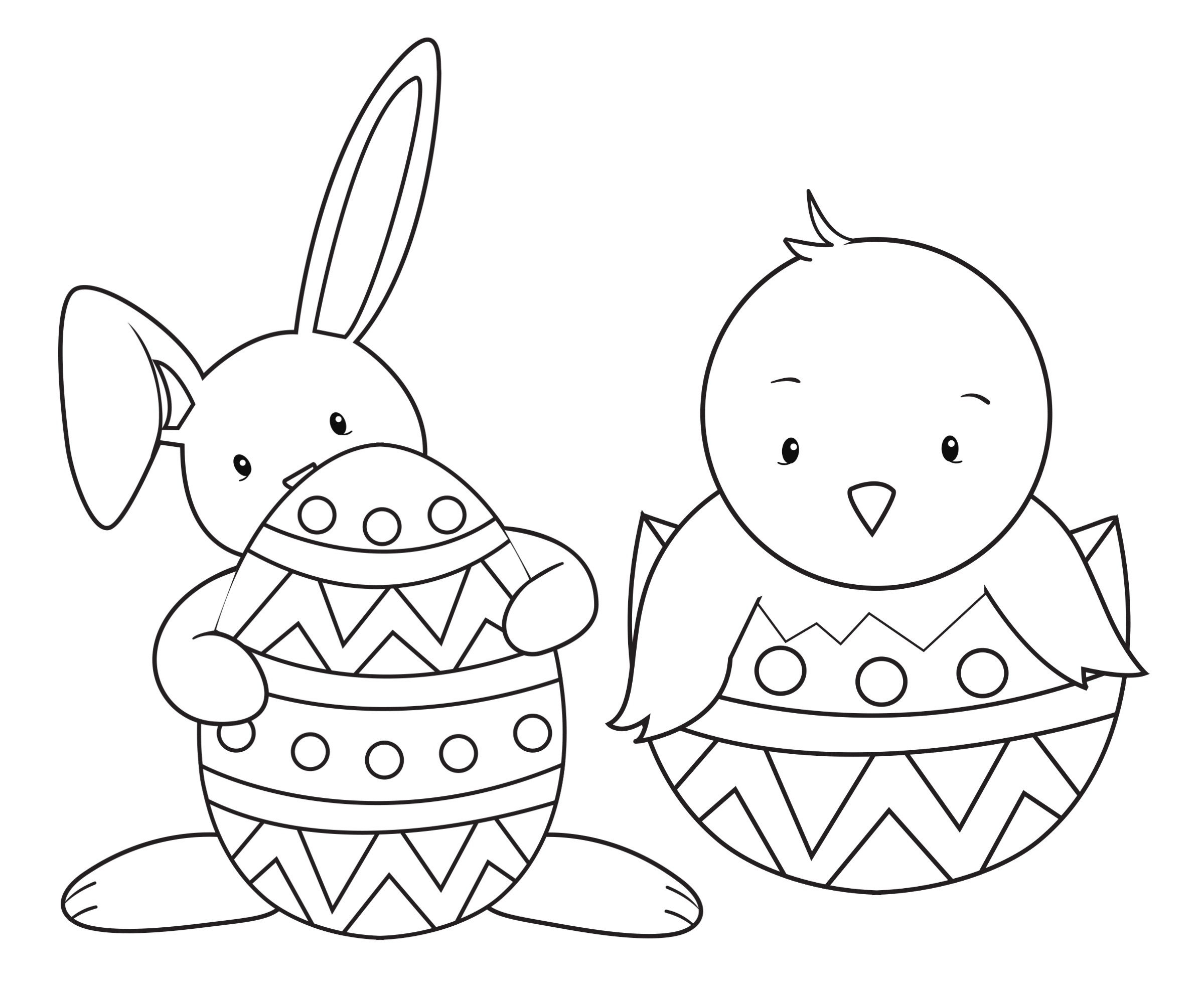 Easter Coloring Pages For Kids - Crazy Little Projects - Coloring Pages Free Printable Easter