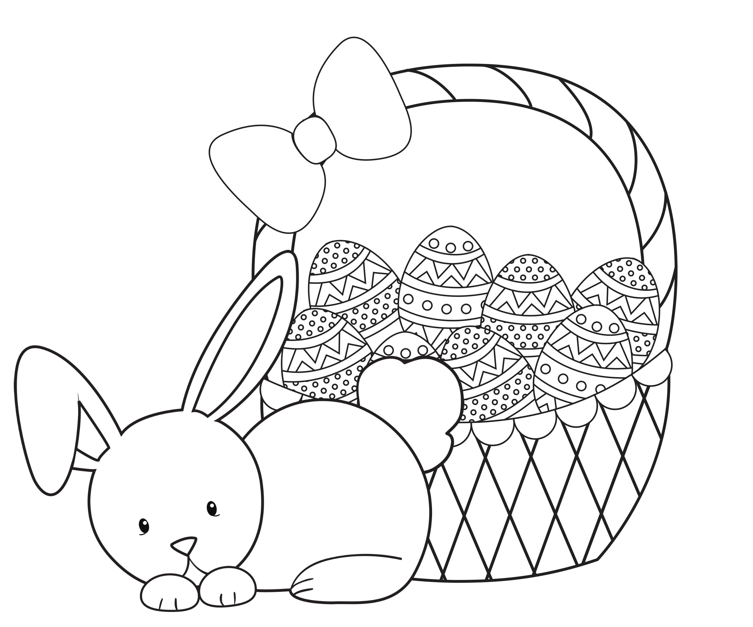 Easter Coloring Pages For Kids - Crazy Little Projects - Free Printable Easter Coloring Pages