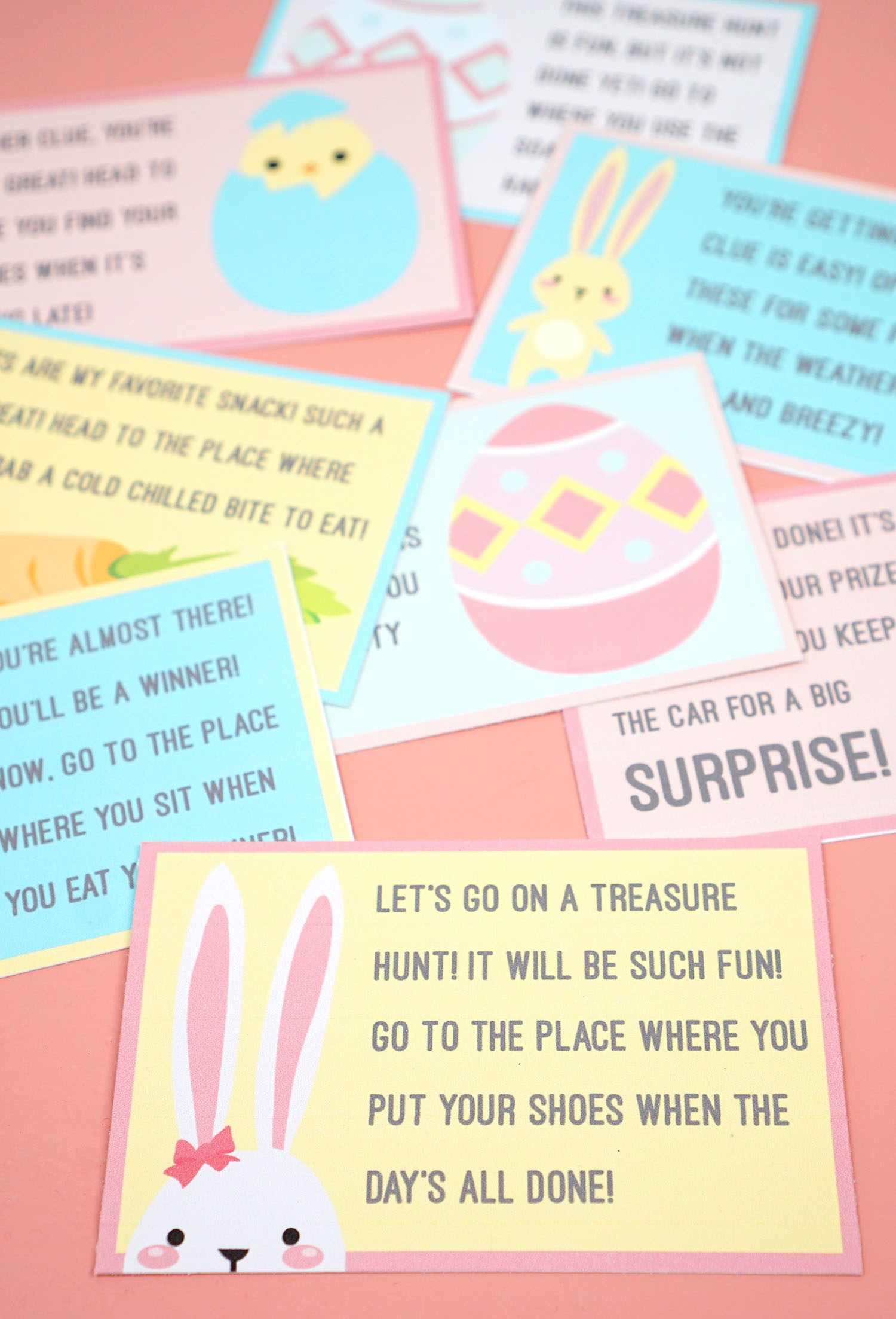 Easter Scavenger Hunt - Free Printable! - Happiness Is Homemade - Free Printable Treasure Hunt Games