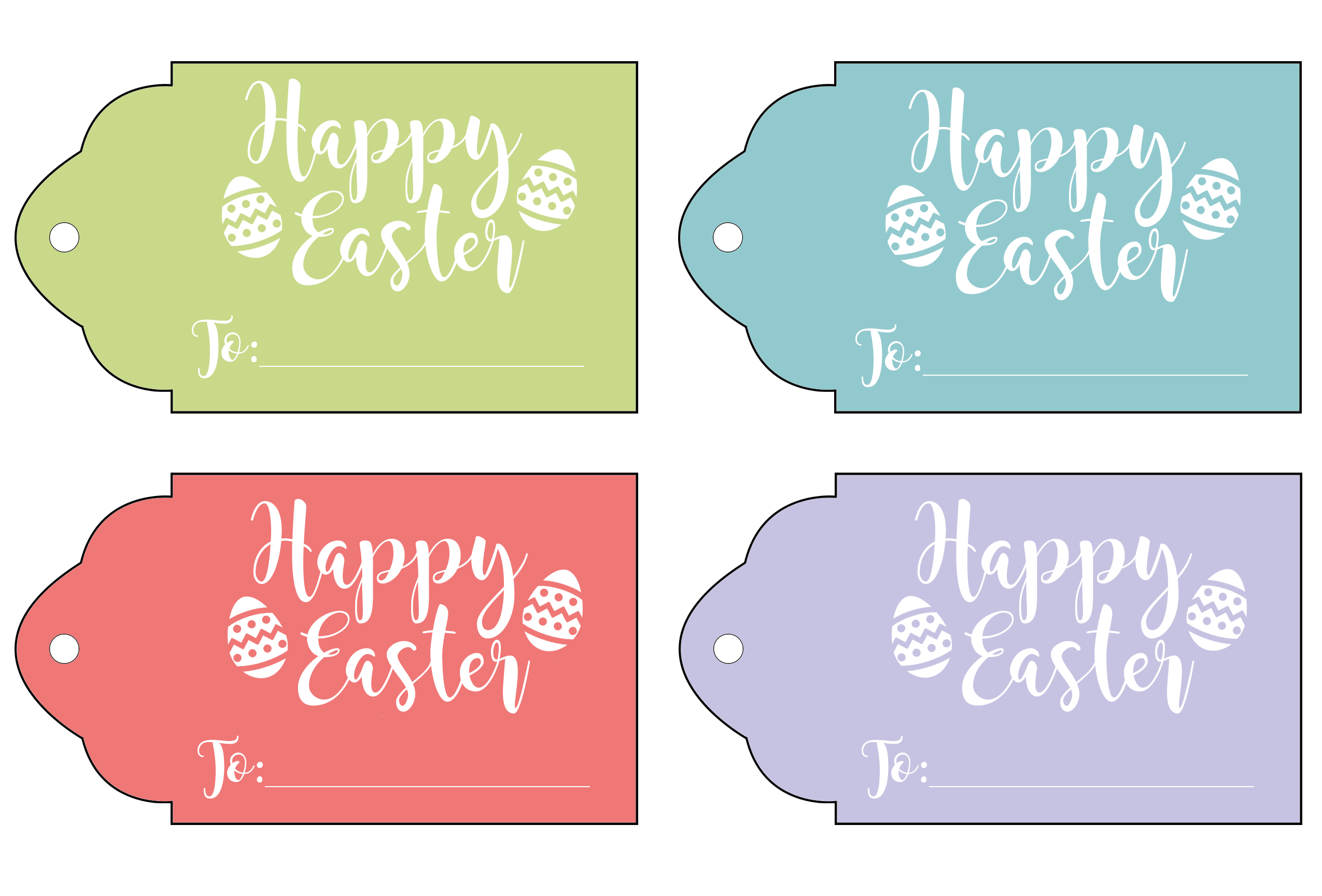 Easter Tags Free Printables – Hd Easter Images - Free Printable Easter Tags
