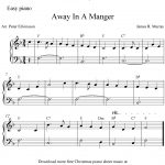 Easy Piano Arrangementpeter Edvinsson Of The Christmas Carol   Christmas Piano Sheet Music Easy Free Printable