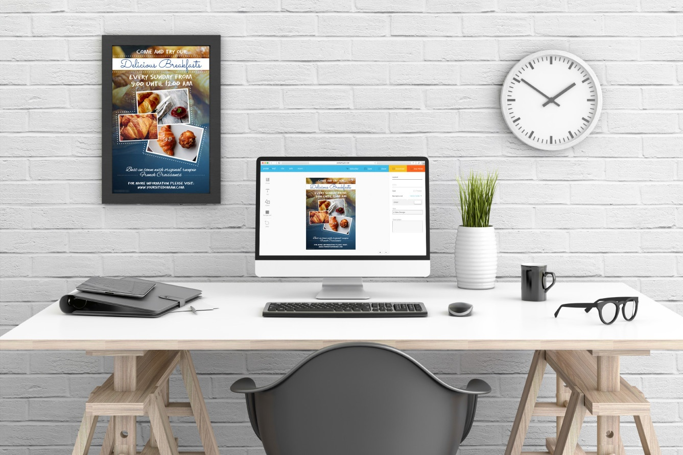 Easy Promotional Posters, Graphics & Videos | Postermywall - Printable Sign Maker Online Free
